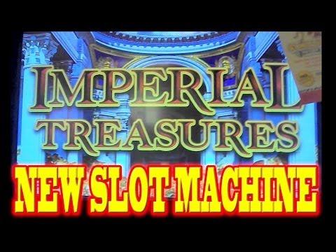 Imperial Treasures NEW SLOT MACHINE WIN Las Vegas Slots Winner