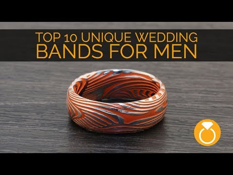 Top 10 Unique Mens Wedding Bands
