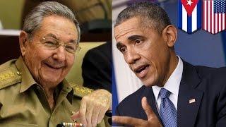 キューバ議会がアメリカとの国交回復受け入れ