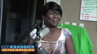 Sweet Brown visits Kidd Kraddick in the Morning
