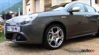 Test Alfa Romeo Giulietta - Essai 170ch - Modèle 2010 - YouTube