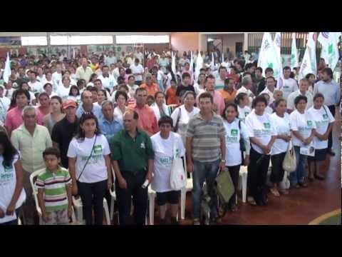 Lanzamiento candidatura de Sixto en Alto Paraná