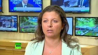 Маргарита Симоньян: Мы стараемся не верить в теории заговоров