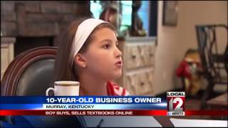 10-year-old CEO runs business