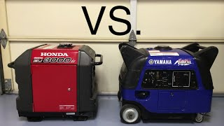1. Honda EU3000is vs Yamaha EF3000iSEB sound comparison