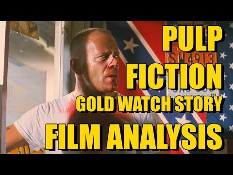 PULP FICTION - GOLD WATCH STORY Film Analysis By Rob Ager