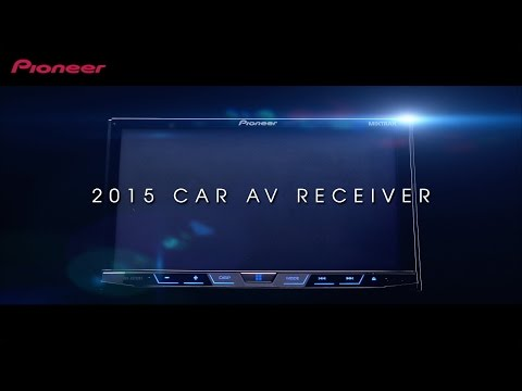 2015 Pioneer Car AV Receiver Introduction Video
