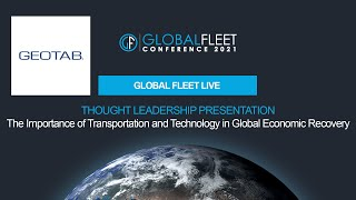 The Importance of Transportation and Technology in Global Economic Recovery
