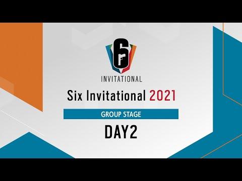 Six Invitational 2021 グループステージ Day2【レインボーシックス シージ】