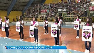 Lençóis Paulista recebe público recorde na abertura da Copa Record