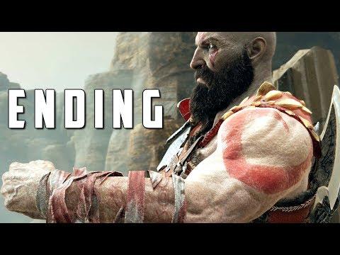 GOD OF WAR ENDING / FINAL MISSION - Walkthrough Gameplay Part 49 (God of War 4)