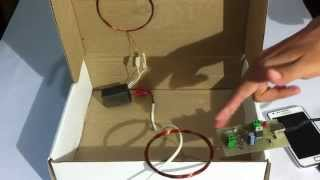 Wireless Mobile Charging Project