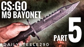 Finishing the CS:GO M9 Bayonet!! SHARE THIS WITH YOUR FRIENDS :) GET T-SHIRTS: http://alecsteeleshop.com/ FOLLOW ON ...