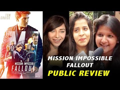 Mission Impossible Fallout Public Review   Tom Cru