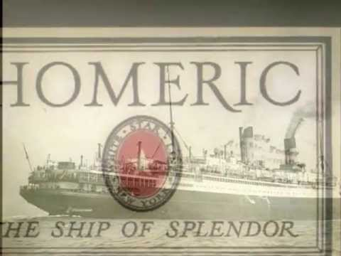 RMS Homeric, White Star Line, You are in my Heart..., Roaring Twenties