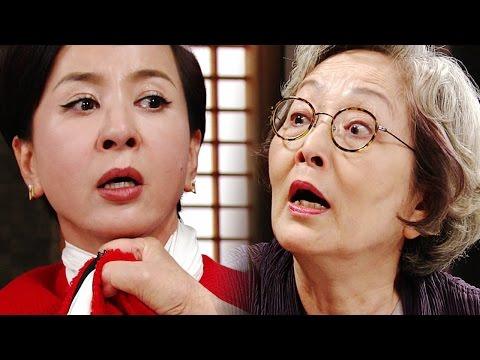 김영옥, 이혜숙 악행에 폭발! '분노의 멱살잡이' @돌아온 황금복 20151013