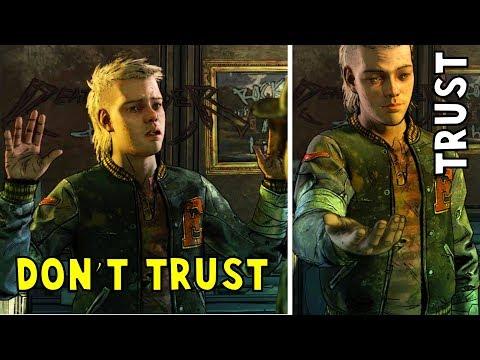 Trust vs don't Trust Marlon - The Walking Dead the Final Season