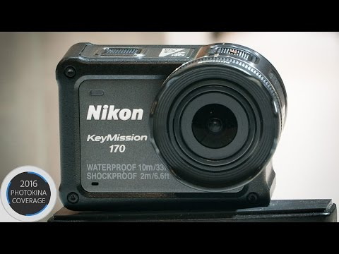 Nikon KeyMission 170 Action Camera Announced - Worthy GoPro Alternative?