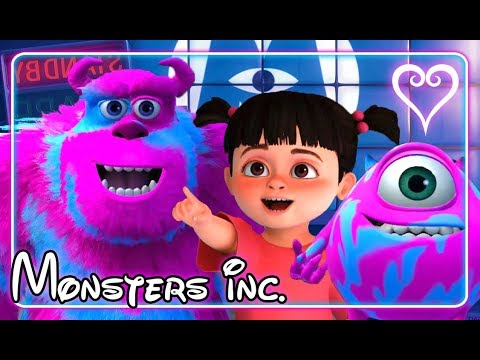 Kingdom Hearts 3 All Cutscenes | Full Movie | Monsters Inc ~ Monstropolis