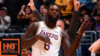 Los Angeles Lakers vs Phoenix Suns Full Game Highlights   01/27/2019 NBA Season