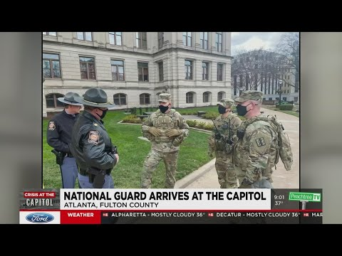 Georgia Capitol sees increased security amid nationwide threats of Inauguration Day unrest
