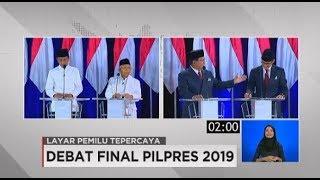 Video Debat Final Pilpres 2019 Soal Keuangan & Investasi MP3, 3GP, MP4, WEBM, AVI, FLV Juli 2019
