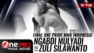 Video Final One Pride MMA Indonesia: Ngabdi Mulyadi Vs Zuli Silawanto [Welter Weight] MP3, 3GP, MP4, WEBM, AVI, FLV Mei 2018