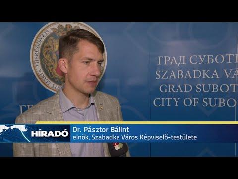 Fenyő Miklós Szabadkán - teljesen megtelt a város főtere-cover