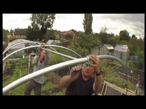 polytunnels - Make no mistake, constructing a polytunnel is not a little project to amuse yourself over an idle Sunday afternoon. An 8ft x 25ft can be constructed in a day...