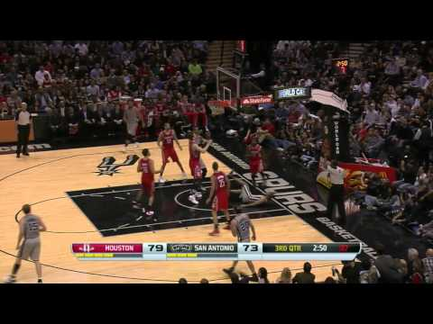 NBA Highlights: Rockets @ Spurs 11/30/2013
