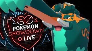 Enter COPPERAJAH! Pokemon Sword and Shield! Copperajah Pokemon Showdown Live! by PokeaimMD