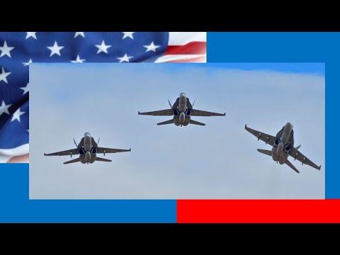 Ohio State vs Maryland F-18 Hornet Flyover November 2019