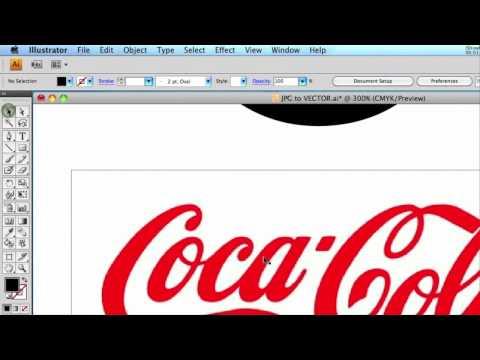Web Design Tutorial - Converting JPG logo to Vector
