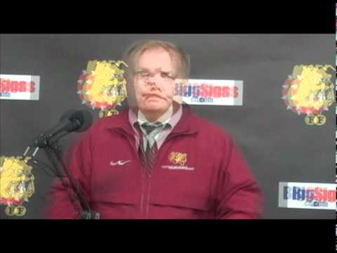 Bob Daniels Post Game Press Conference 11/6/10
