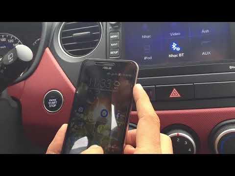 Cách sử dụng Màn hình AVN trên xe Hyundai I10 2017