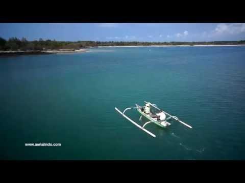 Serangan Island Drone Video