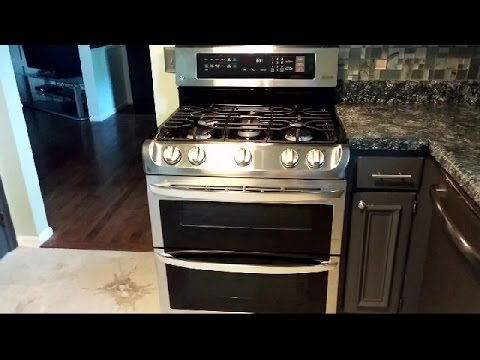 LG Gas Double Oven Range with ProBake Convection