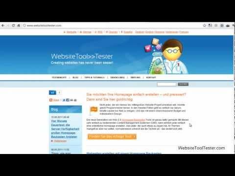 Kostenlose Homepage erstellen: Vergleich von vier Anbietern