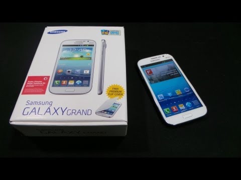 Samsung Galaxy Grand Duos GT-I9082 - Unboxing & Hands-on - Cursed4Eva.com
