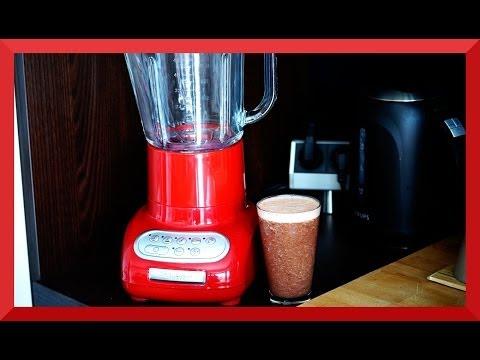 Kitchenaid Standmixer Rezept - Frühstücksdrink Shake Cranberry Banane