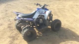 9. 2016 Yamaha Raptor 90 Kids ATV