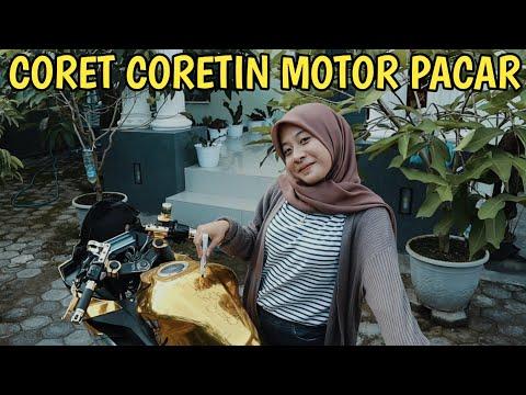 PRANK CORET CORETIN MOTOR PACAR | SAMPEK MARAH