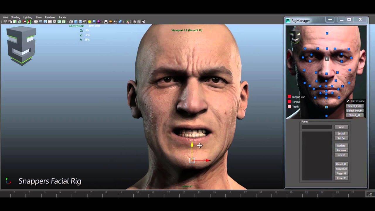 Creating Custom Facial Motion Capture - Maya Tutorial