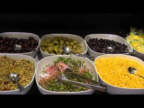 Dan Tel Aviv's lavish breakfast buffet