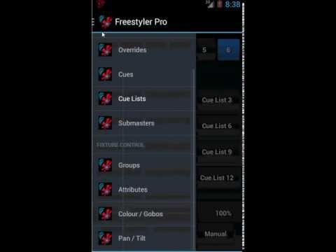 Video of Freestyler Dmx Remote (WIFI)