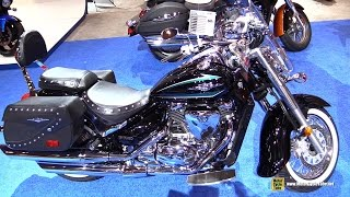 8. 2016 Suzuki Boulevard C50T - Walkaround - 2016 Toronto Motorcycle Show