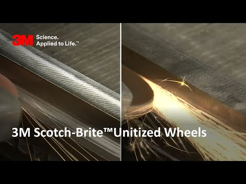 Scotch Brite™ Rapid Cut Unitised Wheels