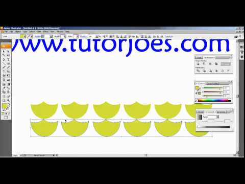 Create A Christmas Bells In Illustrator CS3 Part 1 Tamil