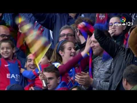 Леванте - Реал Овьедо 1:0. Видеообзор матча 29.04.2017. Видео голов и опасных моментов игры