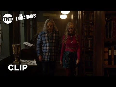 The Librarians: How Stupid Do You Think I Am? - Season 4, Ep. 5 [CLIP] | TNT